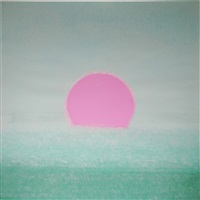 sunset [356] by andy warhol
